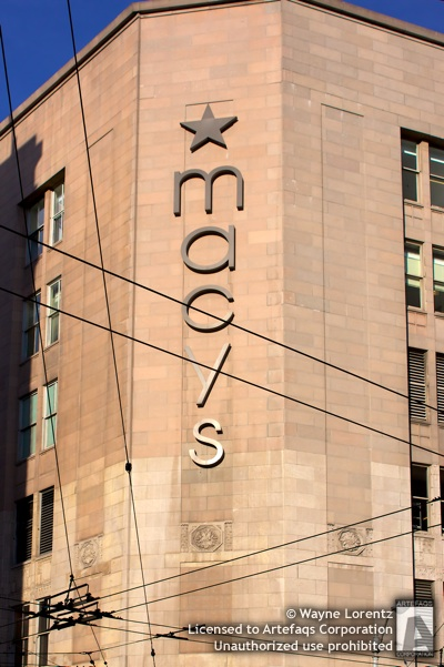 Stock photo of Macys Downtown Seattle - Seattle, Washington
