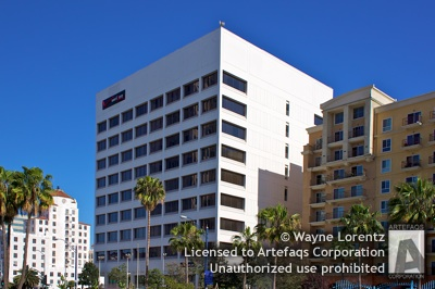 Stock photo of 200 West Ocean Boulevard - Long Beach, California