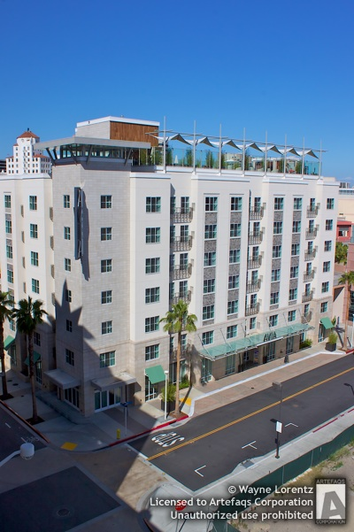 Stock photo of Avia Long Beach Hotel - Long Beach, California