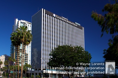 Stock photo of California Bank and Trust Building - Long Beach, California