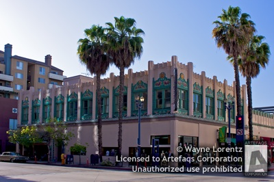Photograph of Doctor Rowan Building - Long Beach, California