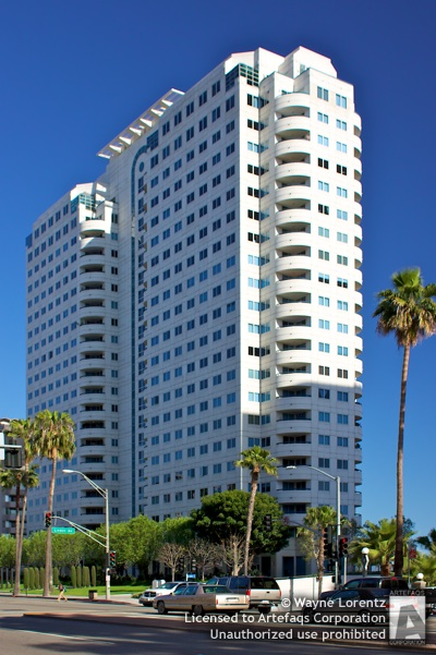Stock photo of HarborPlace Tower - Long Beach, California