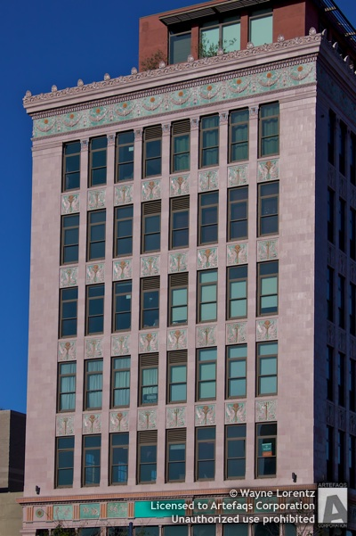 Stock photo of Insurance Exchange Building - Long Beach, California