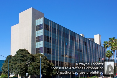 Stock photo of Long Beach County Building, Long Beach, California
