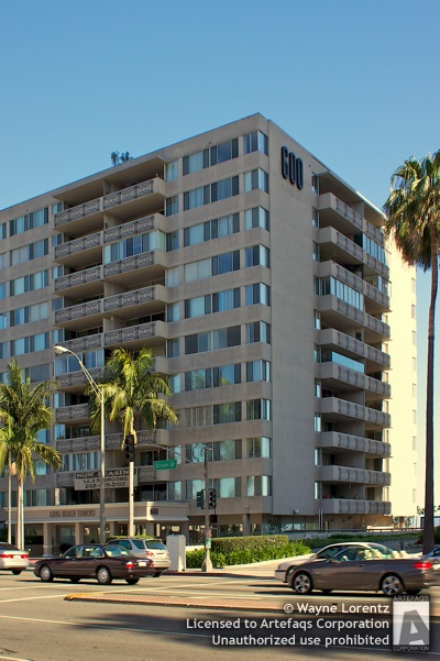Stock photo of Long Beach Towers - Long Beach, California