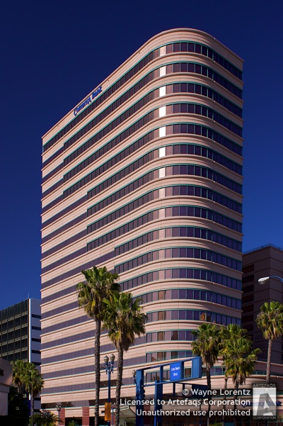 Stock photo of Shoreline Square, Long Beach, California