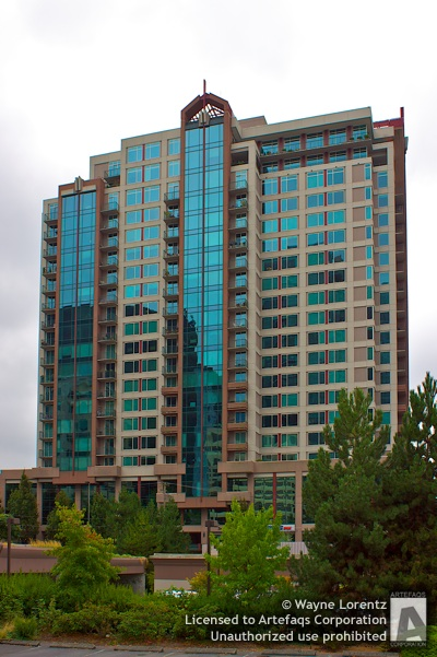 Stock photo of Bellevue Pacific Tower - Bellevue, Washington