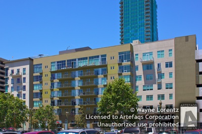 Photograph of 645 West 9th Street - Los Angeles, California