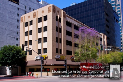 Stock photo of 801 South Flower Street - Los Angeles, California