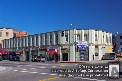Photograph of 3901 West Sixth Street - Los Angeles, California