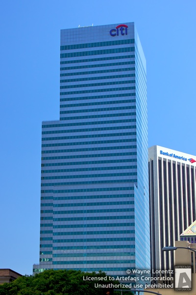 Stock photo of Citigroup Center - Los Angeles, California