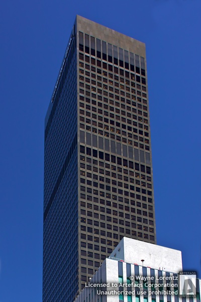 Stock photo of City National Tower - Los Angeles, California
