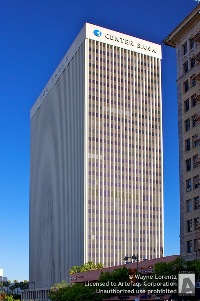 Stock photo of Equitable Plaza - Los Angeles, California