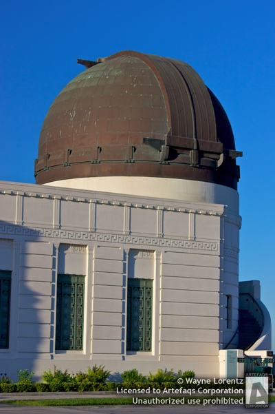 Photograph of Griffith Observatory - Los Angeles, California