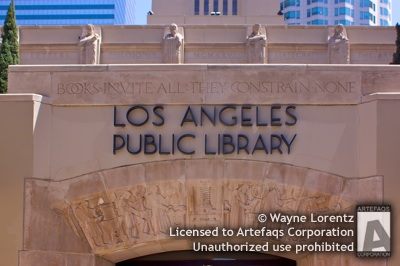 Stock photo of Los Angeles Public Library Central Library - Los Angeles, California