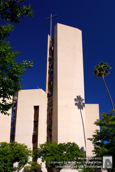 Stock photo of Saint Basil Roman Catholic Church - Los Angeles, California