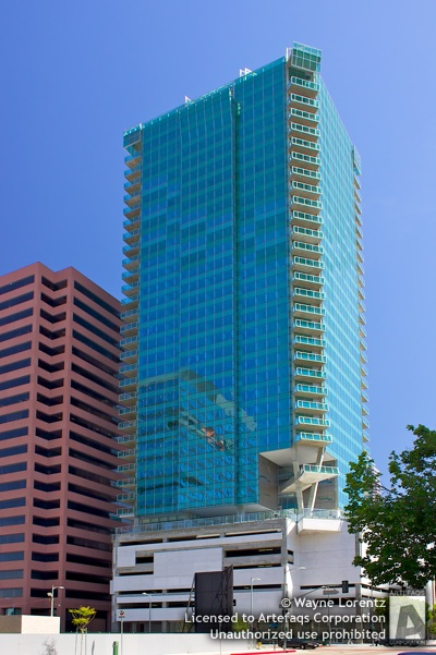 Photograph of WaterMarke Tower - Los Angeles, California