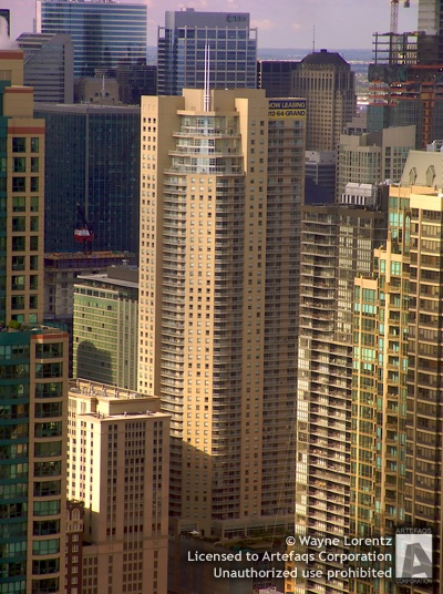 Photograph of Grand Plaza Apartments East Tower  - Chicago, Illinois