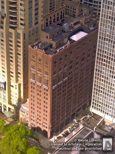 Photograph of Lewis Towers  - Chicago, Illinois, May, 2008, Loyola University (Chica