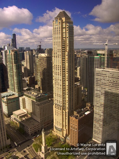 Stock photo of Park Tower  - Chicago, Illinois