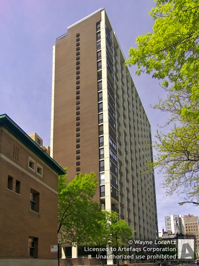 Photograph of Schiller Tower  - Chicago, Illinois