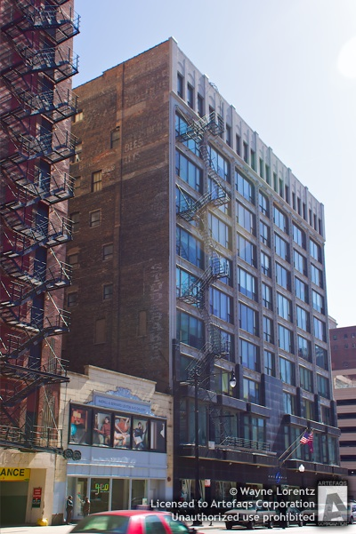 Photograph of Columbia College 623 South Wabash Building - Chicago, Illinois -