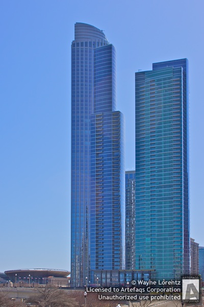 Stock photo of One Museum Park East - Chicago, Illinois -
