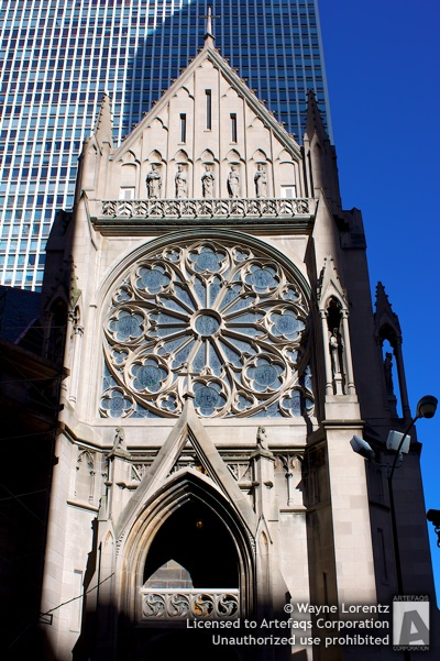 Stock photo of The Archbishop Quigley Center - Chicago, Illinois -