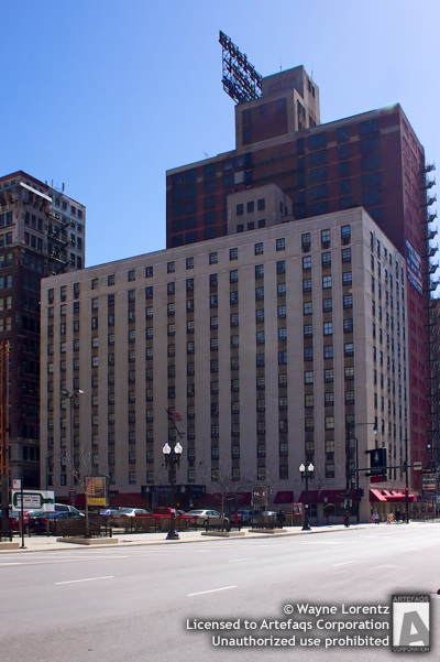 Stock photo of Travelodge Hotel Downtown Chicago - Chicago, Illinois -