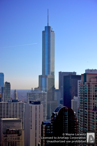 Photograph of Trump International Hotel and Tower - Chicago, Illinois -