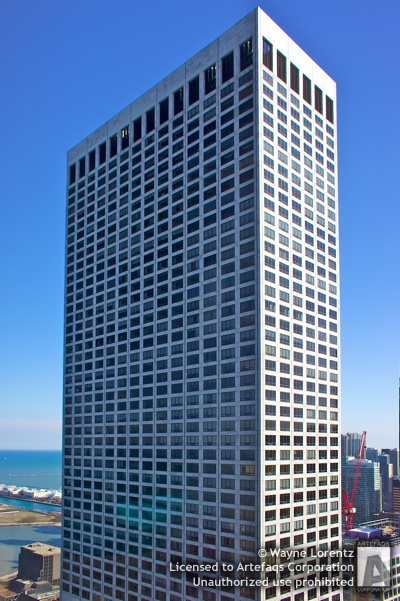 Photograph of Water Tower Place - Chicago, Illinois -