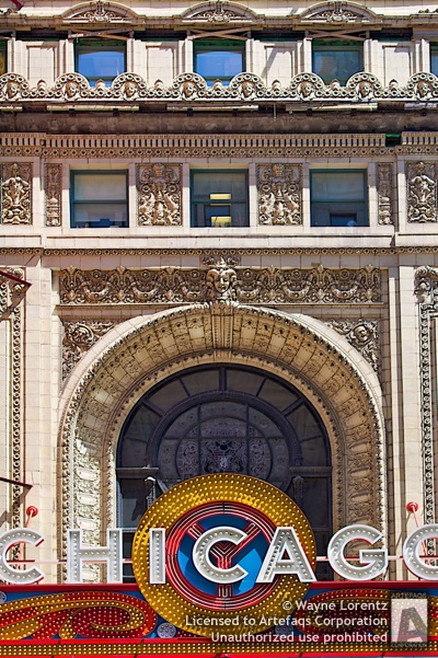 Photograph of Chicago Theater - Chicago, Illinois