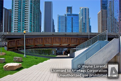 Photograph of DuSable Harbor Overpass - Chicago, Illinois