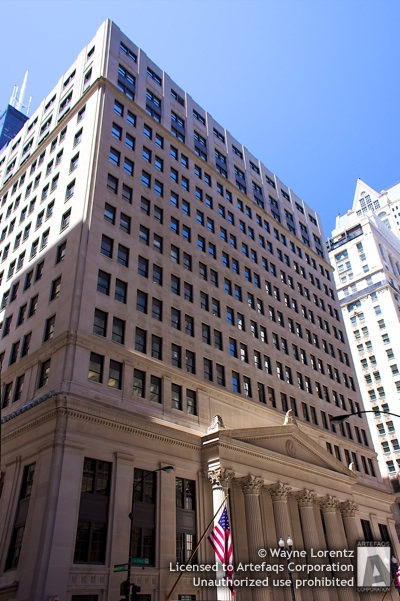 Stock photo of Federal Reserve Bank of Chicago - Chicago, Illinois