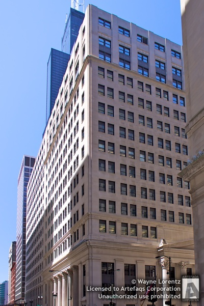 Stock photo of Federal Reserve Bank of Chicago, Chicago, Illinois