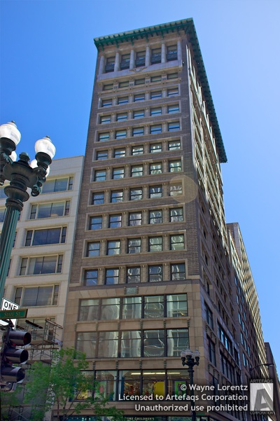 Photograph of Mentor Building - Chicago, Illinois