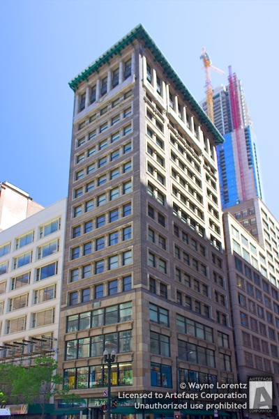 Stock photo of Mentor Building - Chicago, Illinois