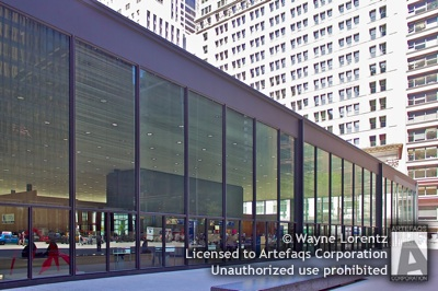 Stock photo of United States Post Office - Chicago, Illinois, May, 2009, Loop Station - Chicago, Illinois