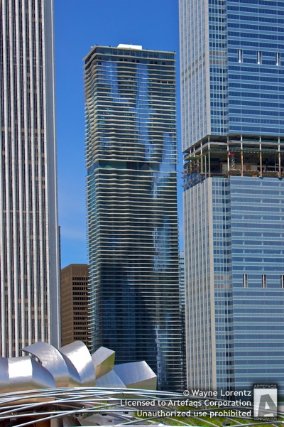 Stock photo of Aqua - Chicago, Illinois