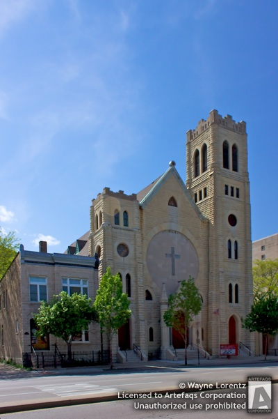 Stock photo of First Immanuel Lutheran Church - Chicago, Illinois