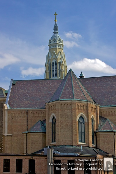 Stock photo of Holy Family Church - Chicago, Illinois