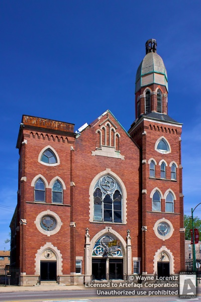 Stock photo of Saint Stephenson Missionary Baptist Church - Chicago, Illinois