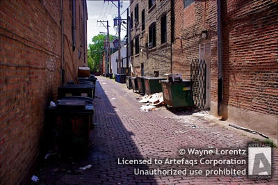 Photograph of Alley - Chicago, Illinois