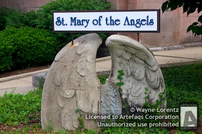 Stock photo of Saint Mary of the Angels - Chicago, Illinois