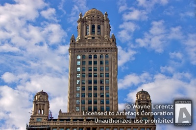 Stock photo of 35 East Wacker - Chicago, Illinois