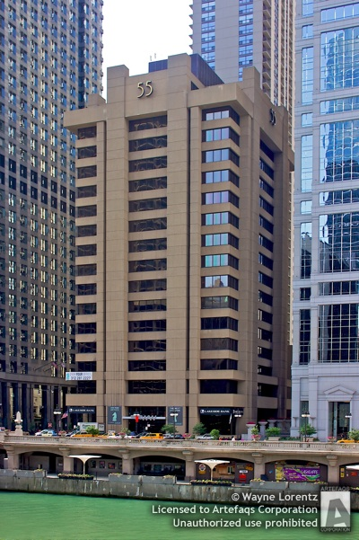 Stock photo of 55 East Wacker, Chicago, Illinois