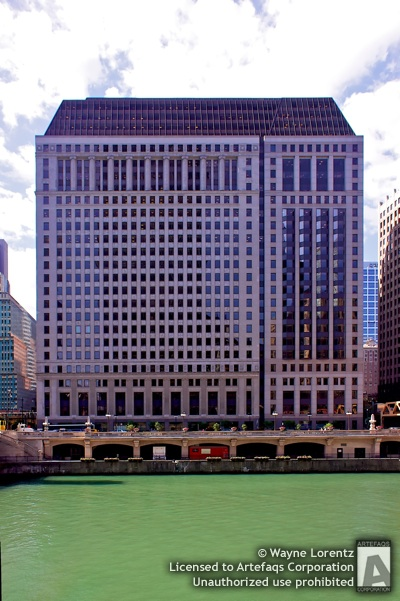 Stock photo of 222 North LaSalle - Chicago, Illinois