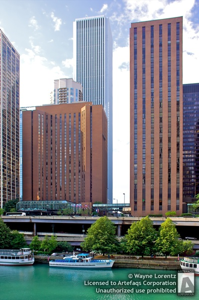 Stock photo of Hyatt Regency Chicago Tower II - Chicago, Illinois