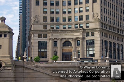 Stock photo of London Guarantee and Accident Building - Chicago, Illinois