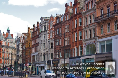 Photograph of Brompton Road - London, England